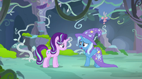 Trixie -they don't want Thorax as their leader- S7E17