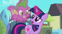 Twilight 'Not a claw Spike' S3E2