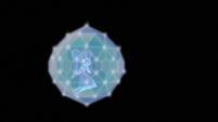 Twilight Sparkle inside Rarity's diamond shield EGS3
