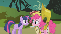 Twilight and Pinkie -the princess can handle it- S1E10