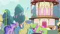 View of Ponyville Crowd S04E16.png