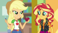 Applejack holding an apple and apple peeler EGDS2.png