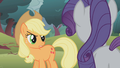 Applejack looks at Rarity with anger S1E08.png