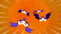 Bat-winged books S5E13