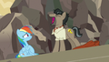 Caballeron laughs maniacally at Rainbow Dash S7E18.png