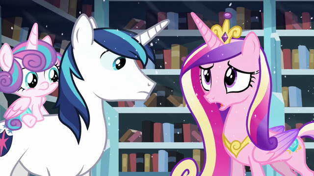"File:Cadance ""but we should evacuate the city just in case!"" S6E2.png"