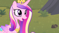 Cadance 'You didn't put a damper on our visit at all' S4E11
