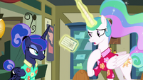 "Celestia ""just going to give this to me"" S9E13"