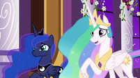 "Celestia ""perhaps a practice session"" S9E17"