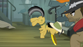 Daring Do pushes the thug away S4E04.png