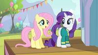 Fluttershy 'are really gonna make the Ponyville Pet Center fundraiser' S4E14