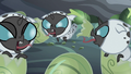 Newborn changelings hiss at each other S6E16.png