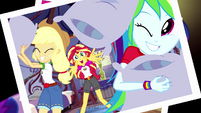 Photograph of Equestria Girls having a pillow fight EG4