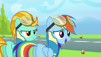 Rainbow 'No pony even came close to six seconds' S3E07