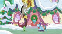 "Rainbow Dash ""stop helping me!"" MLPBGE"