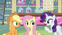 "Rarity ""buying pillows and blankets"" S8E2"