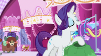 "Rarity ""no better teacher than me"" S9E7"