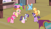 Rarity '...you'll all be there with me!' S4E08