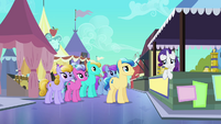 Rarity awkward moment again S3E2
