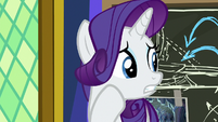 Rarity looks to her other friends S9E4