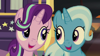Starlight and Trixie sing the next verse S8E19