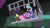 The Power Ponies freed S4E06