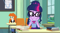 Twilight Sparkle under a lot of stress EGDS22