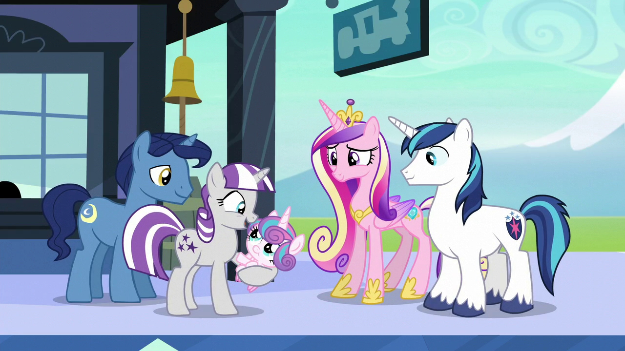 Sparkle Family My Little Pony Friendship Is Magic Wiki Fandom