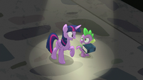 Twilight and Spike pleased with EEA's decision S8E1