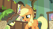 "Applejack ""want to start again now"" S9E10"