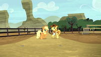 Applejack notices the Crusaders missing S5E6