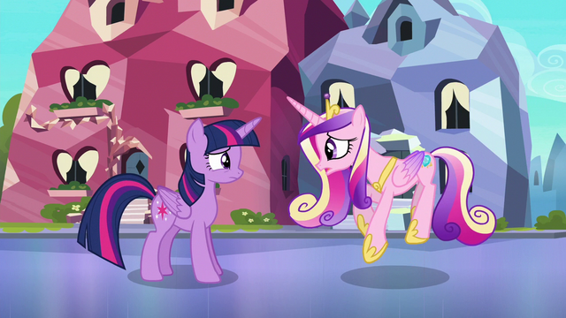 File:Cadance doing the Sunshine, Sunshine dance S6E16.png