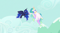 Celestia and Luna victorious high-hoof S9E13
