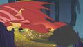 Dragon breathes smoke on Twilight S1E07.png