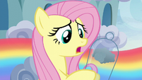 "Fluttershy ""his favorite bits of cloud"" S6E11"