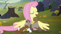 Fluttershy --I'm gonna take you all home with me-- S5E23