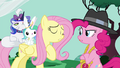 Fluttershy and Pinkie arguing S4E21.png