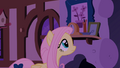 Fluttershy in the room where the fillies are going to sleep S1E17.png