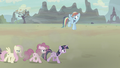Mane Six moving leisurely S5E2.png
