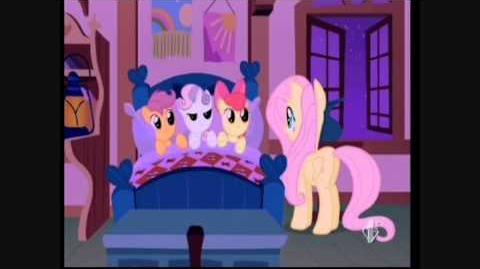 My little pony l'amicizia è magica - canzone silenzio e dormite