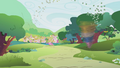 Parasprites head toward Ponyville S1E10.png
