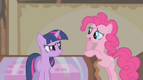 Pinkie Pie embarrassed S1E10