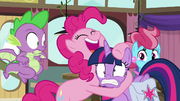 Pinkie Pie excited to be Twilight's partner S9E16