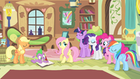 Ponies agreeing with Fluttershy S4E07