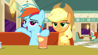 Rainbow --how lame is that--- S6E9