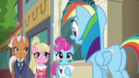 "Rainbow Dash ""before we begin"" S6E9"