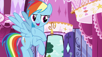 "Rainbow Dash ""mane or no mane!"" S7E19"