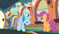 "Rainbow Dash ""there are no winners"" S4E24"