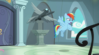 "Rainbow Dash ""we have to go warn her!"" S9E21"