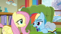 Rainbow Dash --Zeph was just telling me-- S6E11